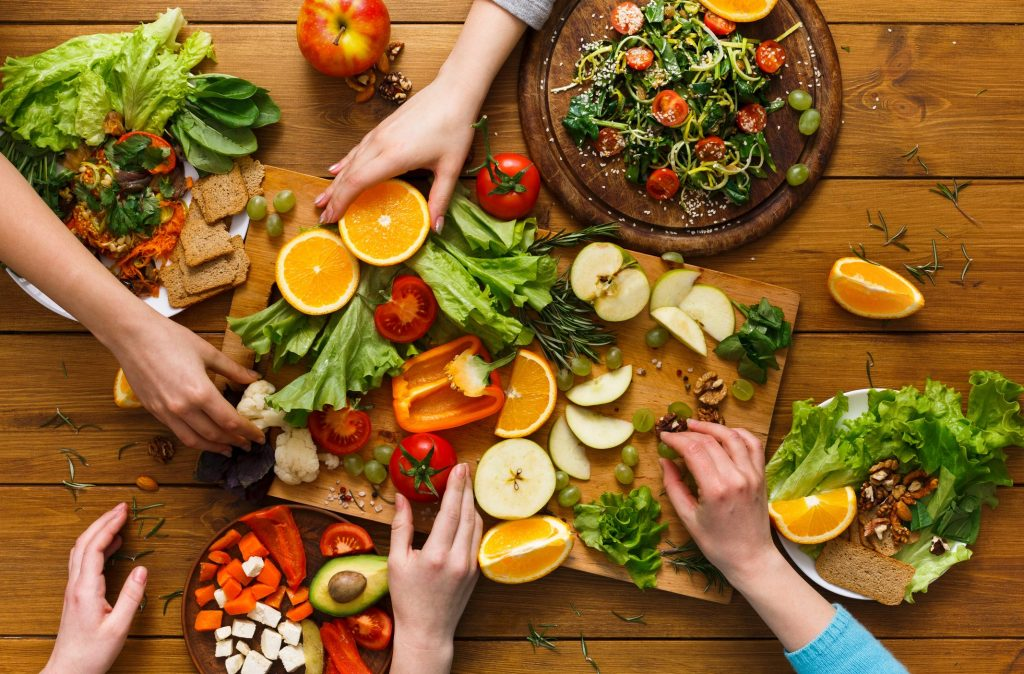 programma vegetariano foto